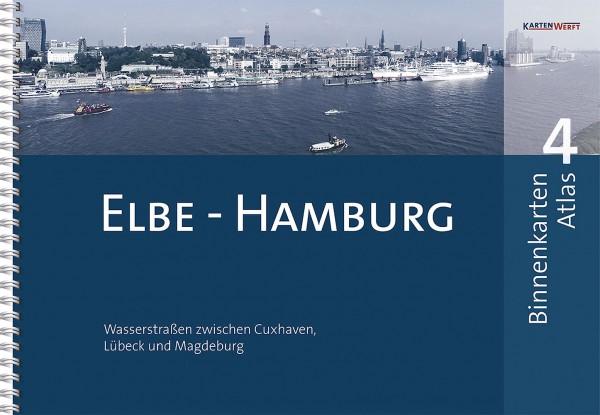 BINNENKARTEN ATLAS 4 Elbe – Hamburg