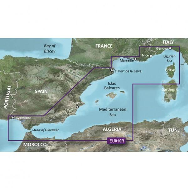 Garmin g2: EU010R - Spanien & westliches Mittelmeer