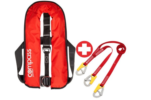 Set Compass Comfort ISO 150N + Safety Lanyard