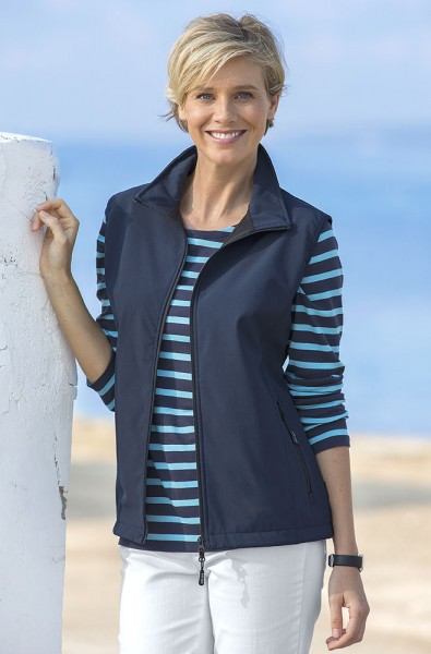 Gilet Softshell femmes Linea il mare
