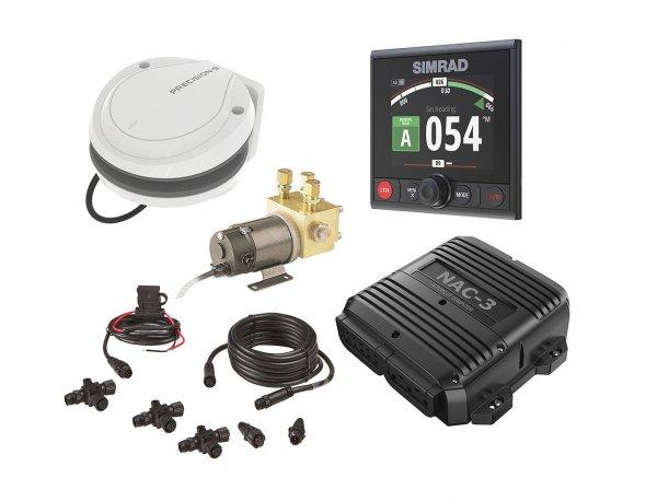 Simrad Autopilot-Paket AP44 mit NAC-3 und Hydraulikpumpe RPU-160