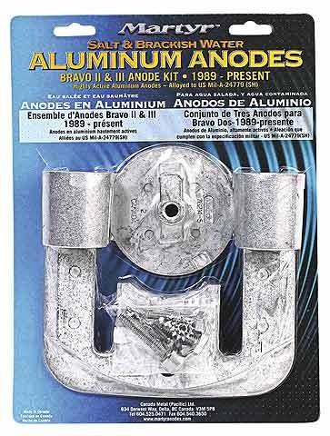 Aluminium Sacrificial Anodes Bravo II