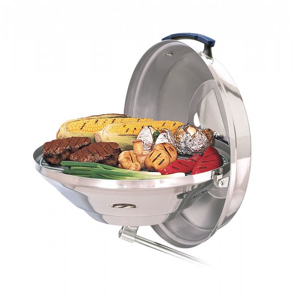 Magma charcoal on-board grill Marine Kettle 3