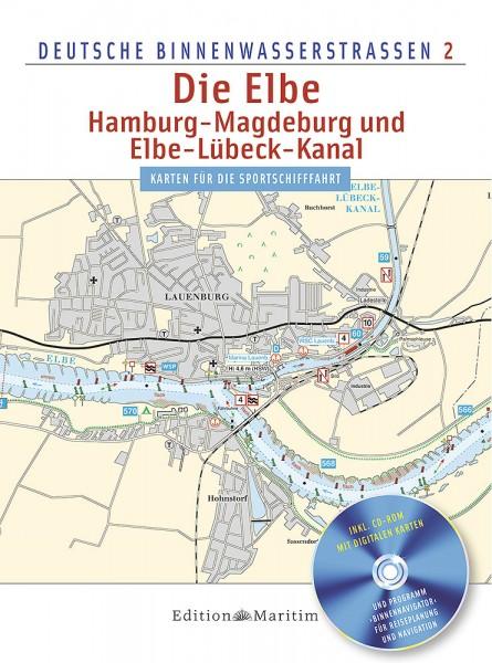 Die Elbe / Hamburg - Magdeburg und Elbe-Lübeck-Kanal