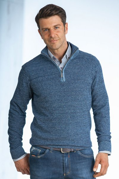 Zipp-Pullover