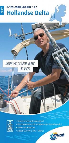 ANWB Waterkaart #12 Hollandse Delta