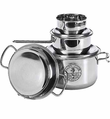 Stainless 7-Piece Pan Set