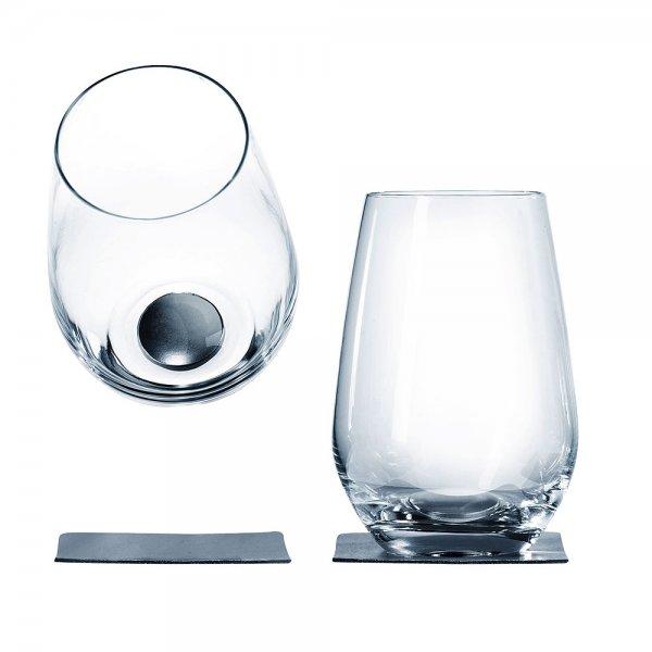 Longdrinkglas mit Magnet, 2er-Set