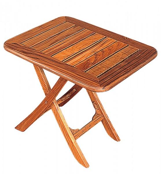 Petite table pliante ARC en teck