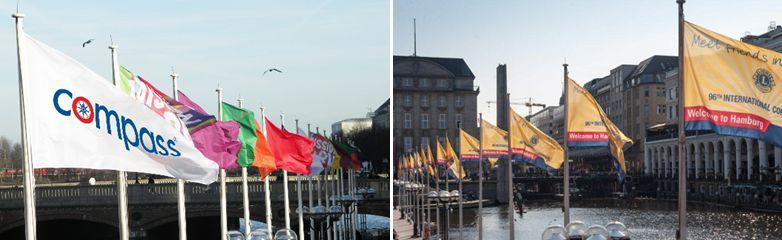 Fahnen- und Flaggendruck