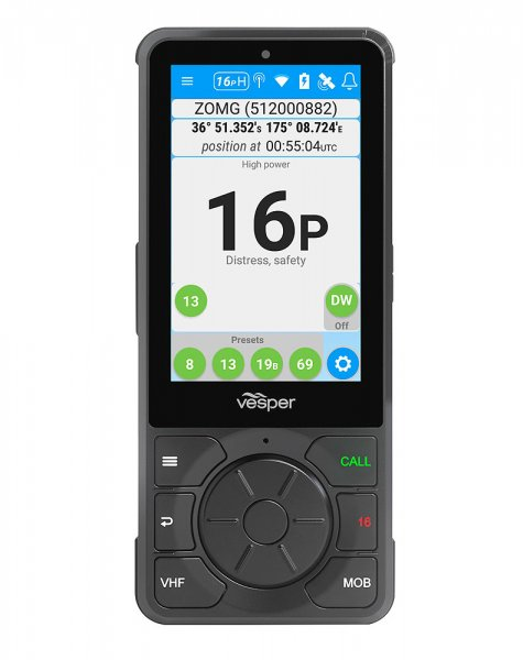 Cortex WiFi handset Touchscreen