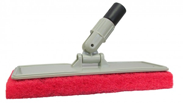 Starbrite® Flexible Head Scrubber With Red (Medium) Pad
