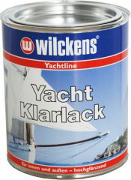 Wilckens clear yacht lacquer