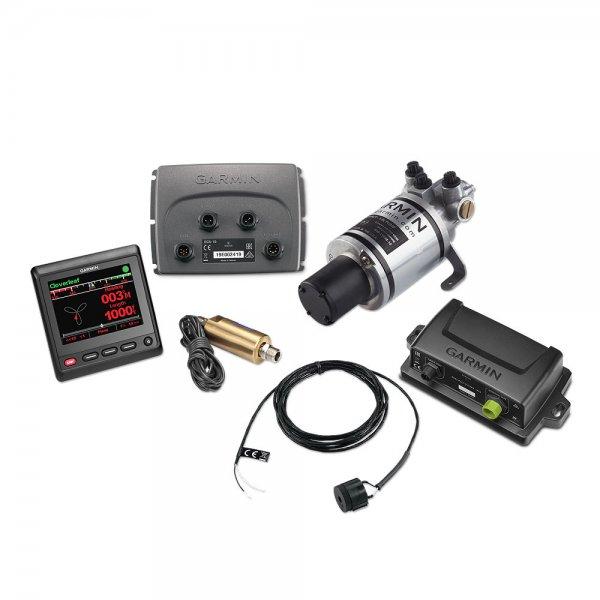 Garmin Autopilotsystem Reactor 40 Hydraulik / inkl. GHC20, 1L Hydraulikpumpe und Shadow Drive