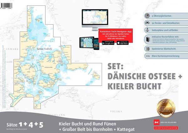 Delius Klasing Sportbootkarten-Set