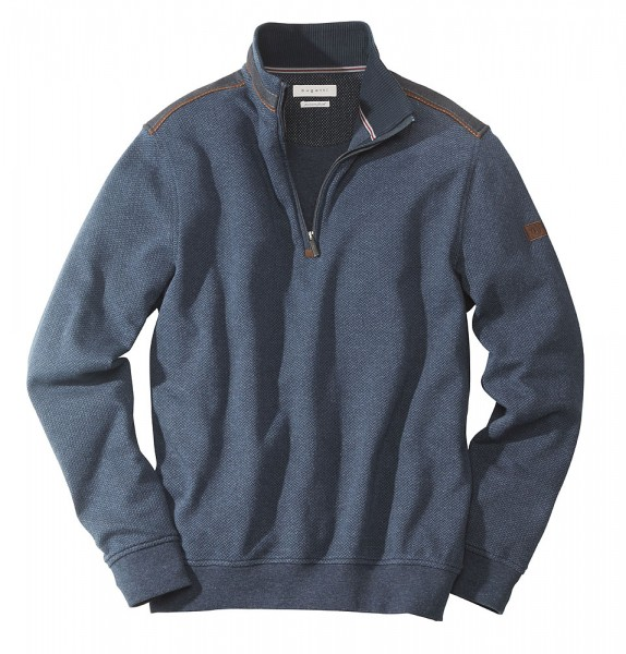 Bugatti Zipp-Sweater