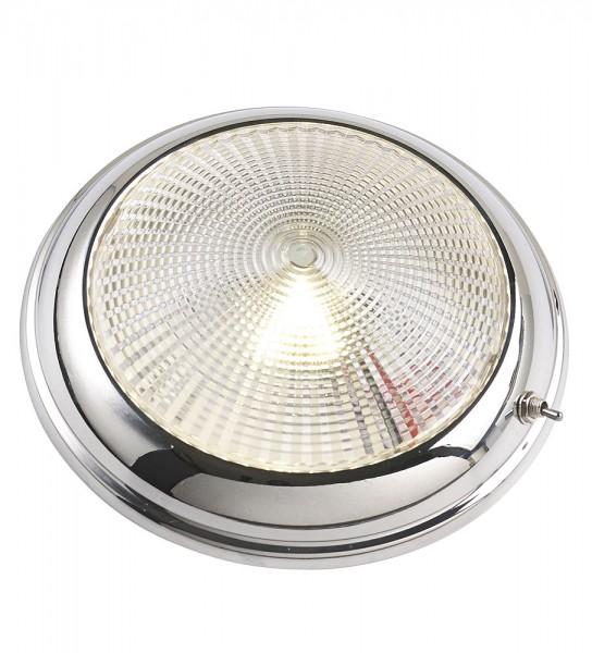 Stainless steel LED ceiling light