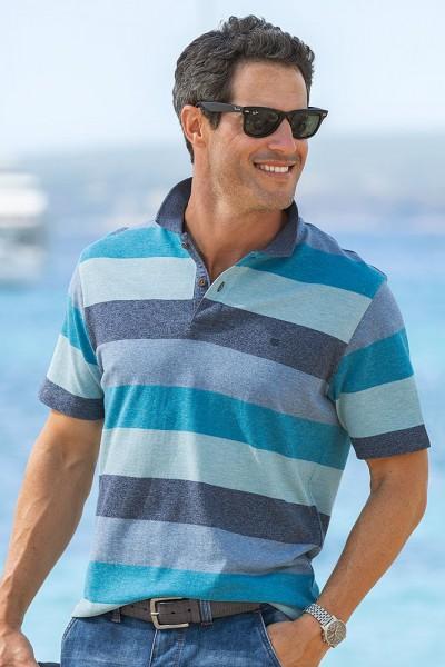 Streifen-Poloshirt