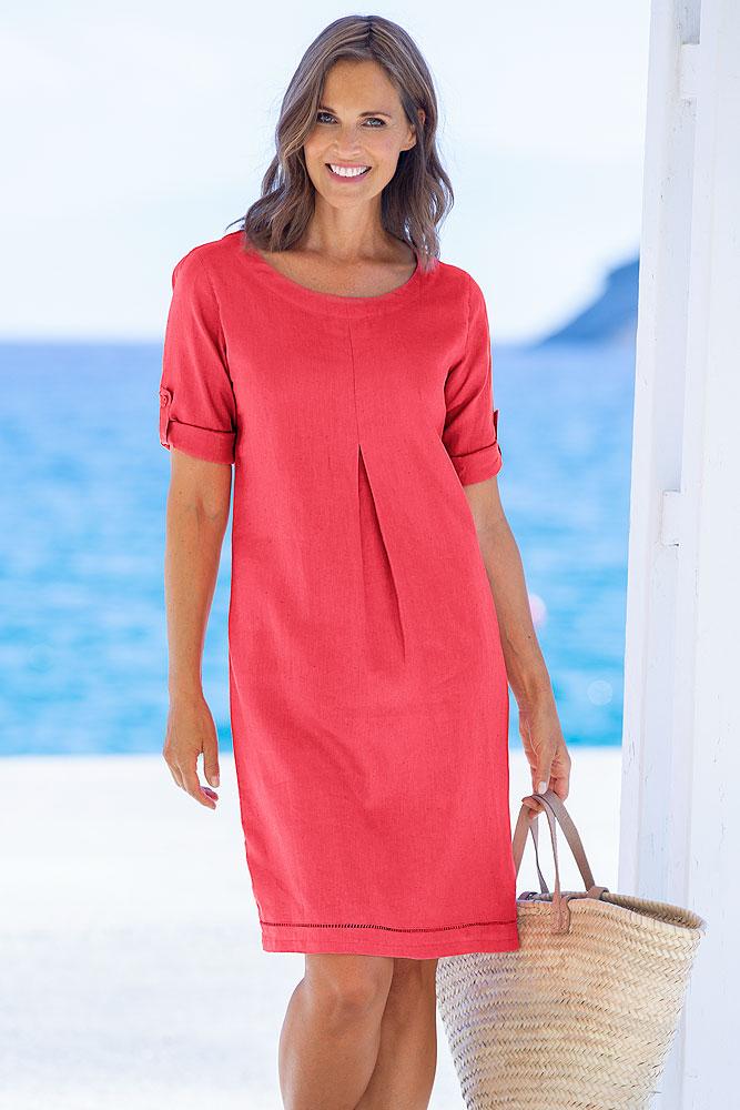 Leinenkleid | Kleider | Damenmode | SEALAND Online Shop ...
