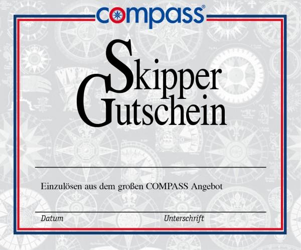 Compass Skipper-Gutschein im Wert von € 15,-
