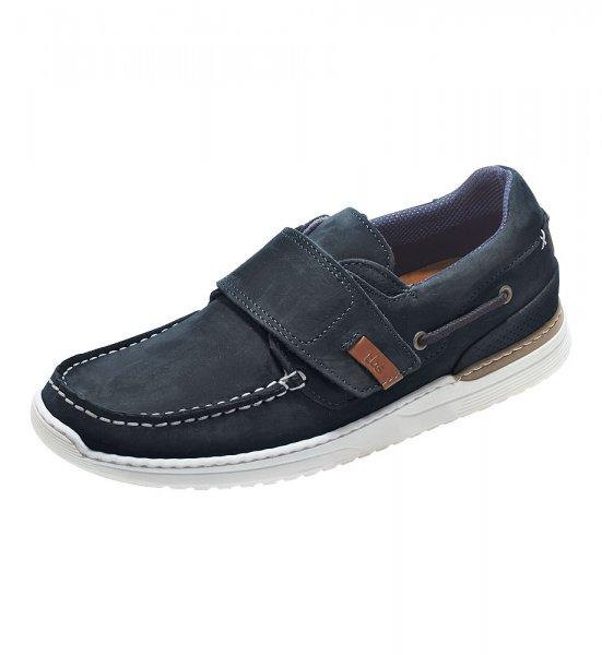 Ridwann nubuck leather shoe with velcro TBS