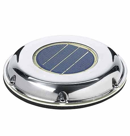 Solar Fan Stainless Steel