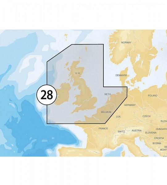 Navionics Gold XL9: 28XG UK, Irland & Niederlande