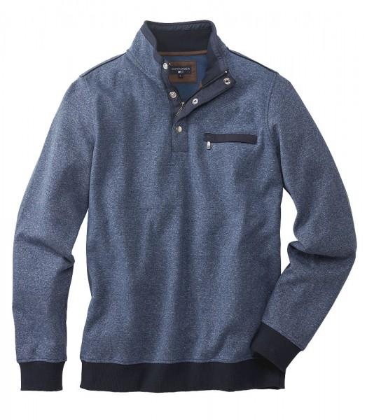 Zipp-Sweater Melange