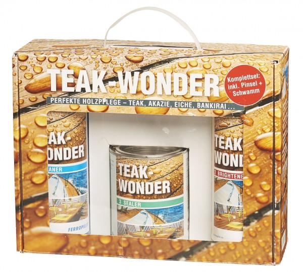 Teakwonder Komplett-Set 5 in 1