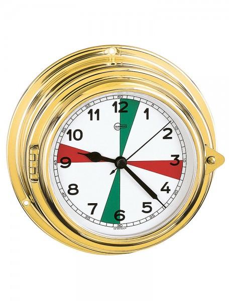 Quartz maritime clock radio sectors
