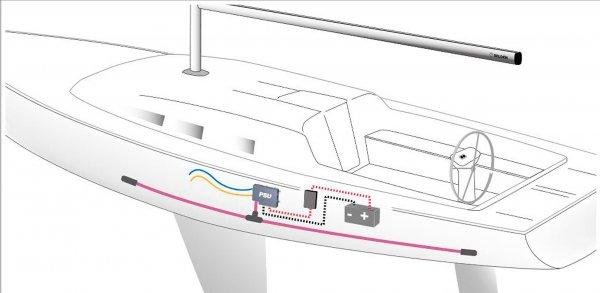 PSU Starter Pack Selden E40i Winch elektrische Winch
