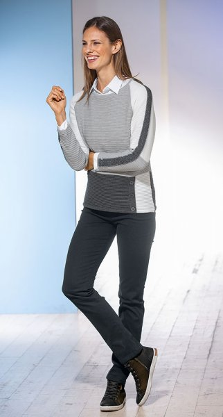 Rabe Colorblocking-Pullover