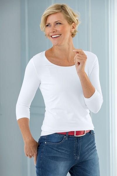 Anna Larssen Basic-Shirt mit 3/4 Arm