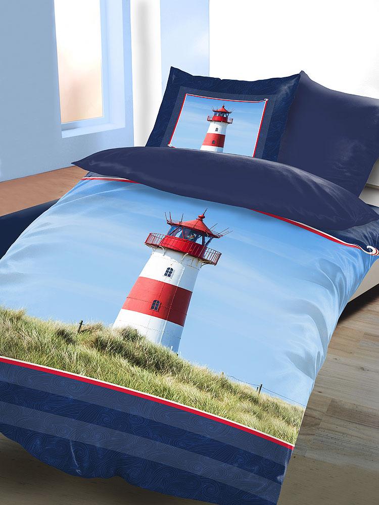 Kinderbettwäsche Leuchtturm.Leuchtturm Bettwasche 135x200 Bettwasche Schlafkomfort