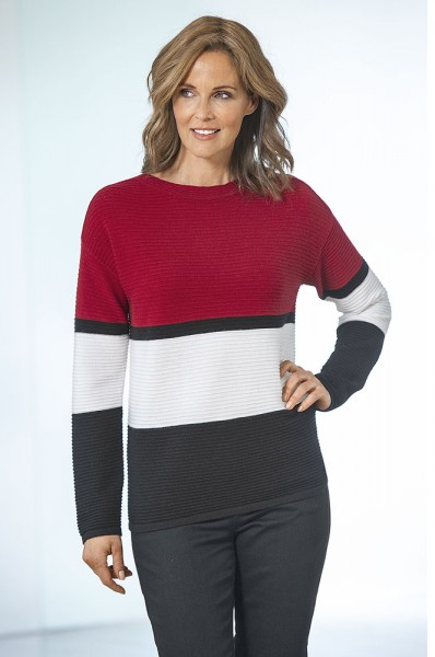 Betty Barclay Blockstreifen-Pullover