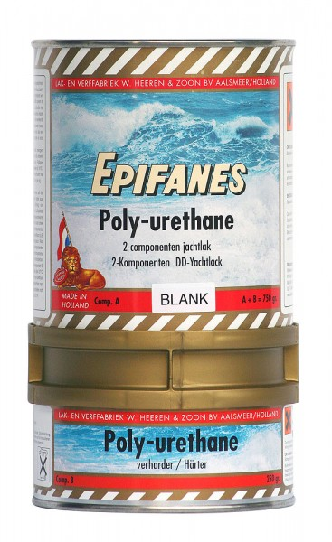 Epifanes clear polyurethane lacquer