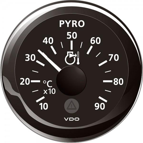Pyrometer 52 mm weiss