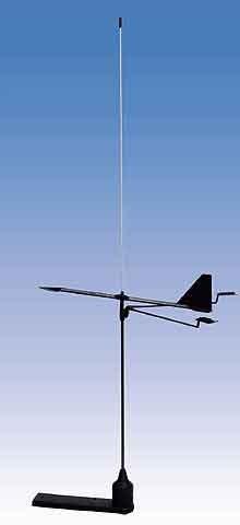 Banten Masttop-UKW-Funkantenne mit integriertem Windrichtungsanzeiger
