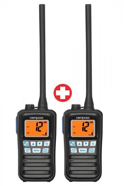 Compass CX-200 Handfunkgerät 2er Set