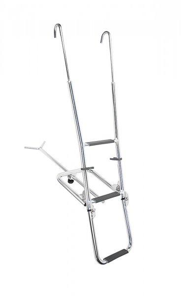 Sturdy bow ladder