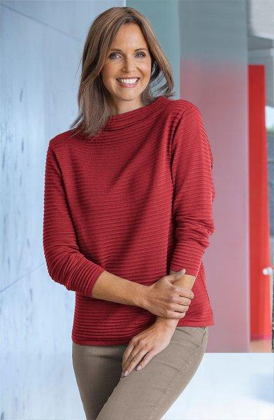 Serafini Damen Struktur-Pullover