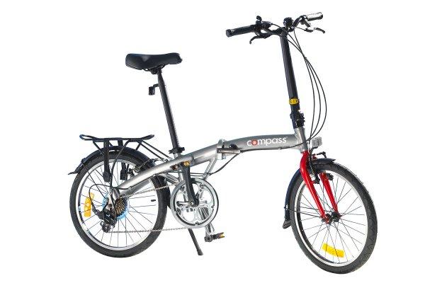 "Compass Faltrad 20"" Aluminium extrem leicht"