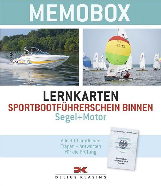 Memobox Lernkarten Sportbootführerschein Binnen (Segel + Motor)