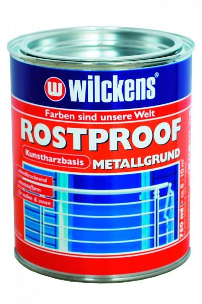 Rostproof-Metallgrund rotbraun