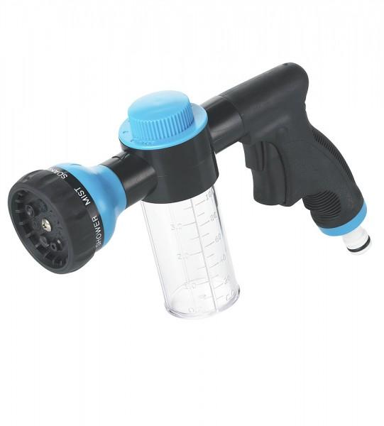 Spritzpistole mit Seifentank