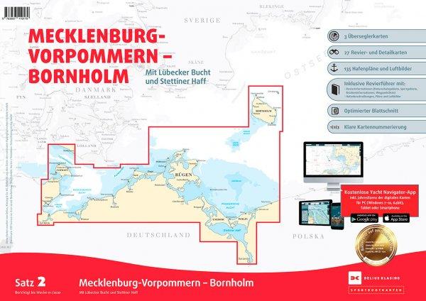 Delius Klasing Satz 2: Mecklenburg-Vorpommern Bornholm