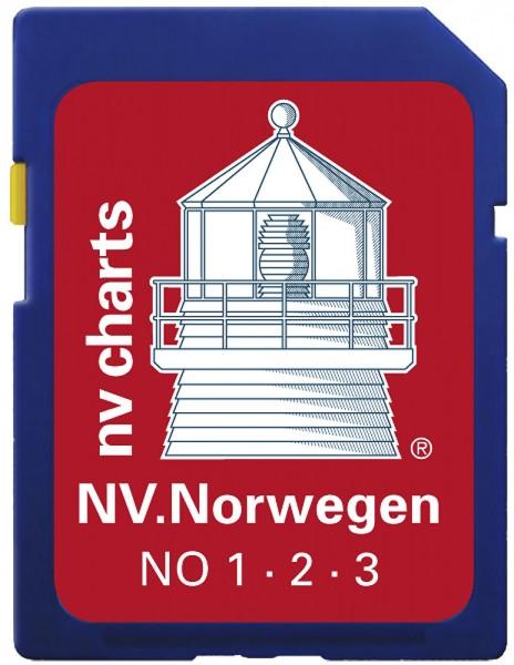 NV Norwegen SD/microSD, Serie 1-3