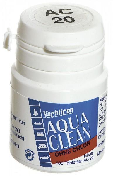 Tabletki do uzdatniania wody bez chloru – Yachticon Aqua Clean