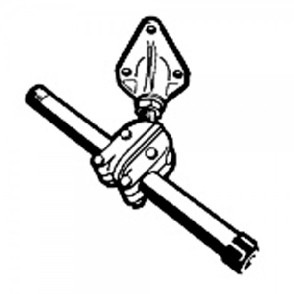 Ultraflex S39 Klemmblock Aluminium