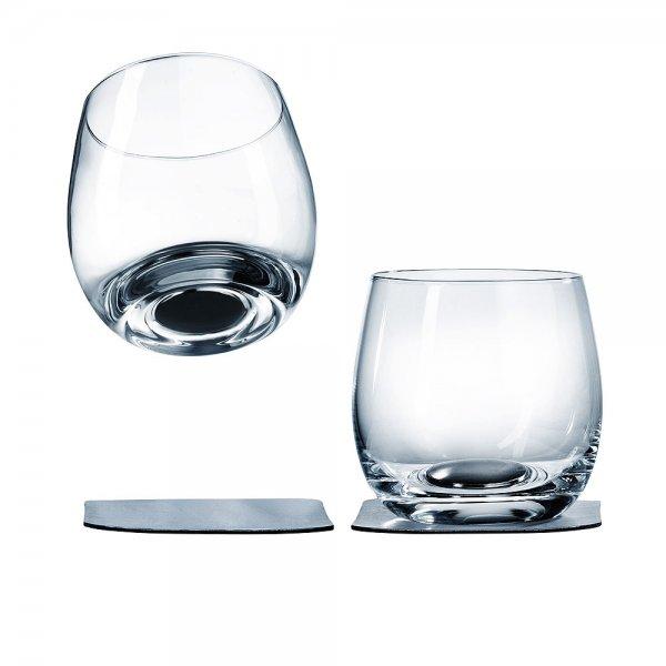 Whiskeyglas mit Magnet, 2er-Set